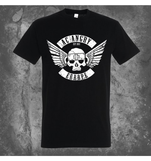 Flying skull | T-Shirt Black