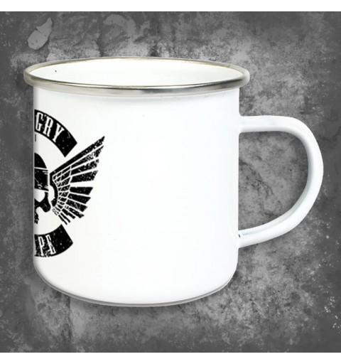 Flying Skull | Enamel Mug
