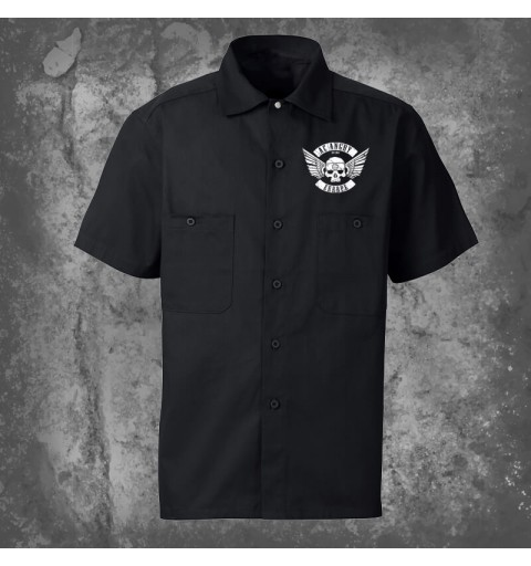 Flying skull | Worker Shirt...